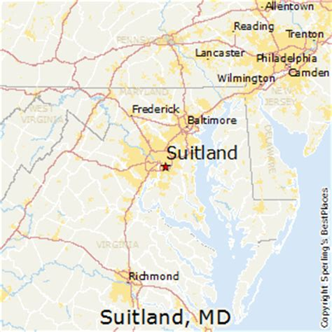 places    suitland maryland