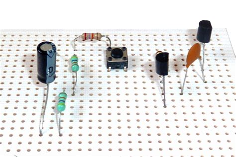 Through Hole Components Not Build Electronic Circuits