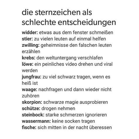 Steinbock Und Wassermann Passt Das by Das Passiert Mir Tats 228 Chlich Manchmal Quotes