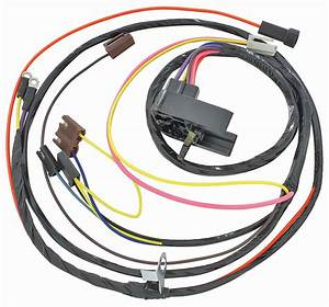 M U0026h 1968 Chevelle Engine Harness 396 Hei W  Gauges   Opgi Com