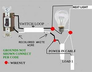 Adding Wall Switch And Another Ceiling Light  Switch Loop Controlling 2 Fixtures