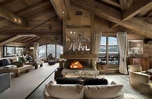 le chalet chalet pearl courchevel With beautiful couleur pour salon moderne 9 cheminees et poeles une ambiance cosy avec la pierre
