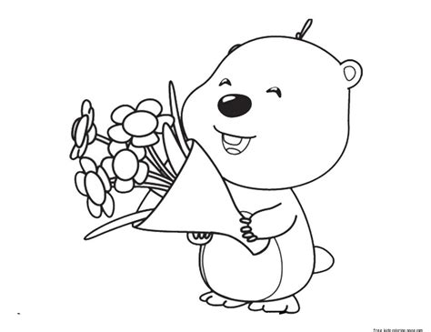 Pengiuns Free Colouring Pages