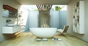 Meilleur Endroit Pour Placer Le Miroir En Feng Shui : am nager d corer la salle de bains selon les principes ~ Premium-room.com Idées de Décoration