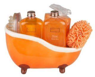 orange kitchen accessories uk winter in venice mango ceramic bath tub per gift 3761