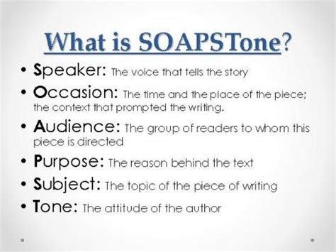 Soapstone Literature - mr funk s web site sachem high school