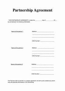 partnership agreement articles of partnership With articles of partnership template