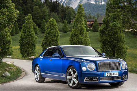 2017 bentley mulsanne first review motor trend