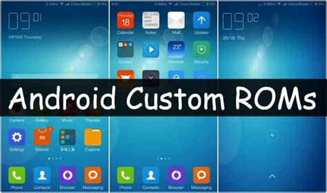 Best Android Rom Top 10 Best Android Custom Roms 2017