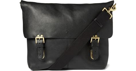 d614af878166 ... super popular 86b88 808a9 Lyst Mulberry Barnaby Leather Messenger Bag  In Black For Men  cheap for discount c6d23 322dd MULBERRY Leather satchel  ...