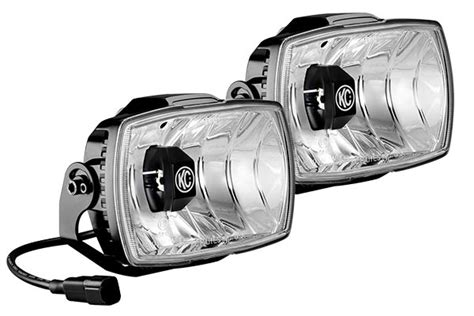 kc driving lights kc gravity led driving lights kc hilites 4x6 quot gravity
