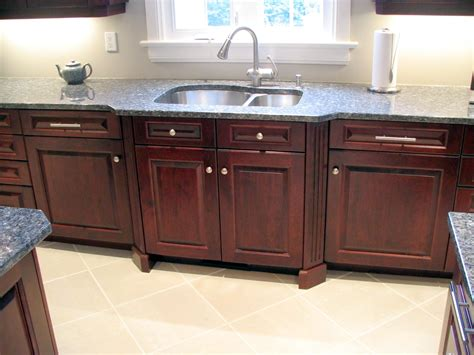 Angled Fluted Columns Bump Out The Sink Area In This
