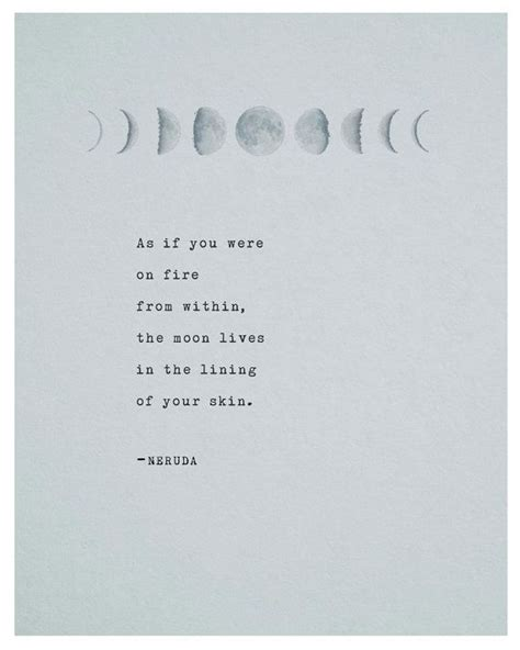 pablo neruda poetry print typography poster by riverwaystudios words pinterest pablo