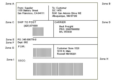 Here's an easy way to print code 128 bar codes from within any windows any avery™ or compatible label sheet will work. Setting Up UCC 128 Compliance