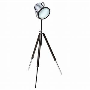 floor lamp 60quot drakar chrome black rona With floor lamp rona