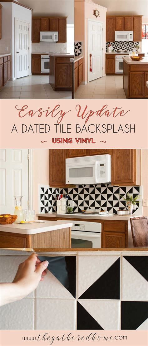vinyl backsplash kitchen 9 best cocinas images on kitchens 3270