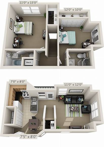 Sims Apartment Floor College Layout Plan Apartments