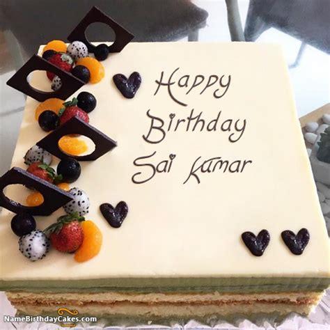 written sai kumar   cakes  wishes