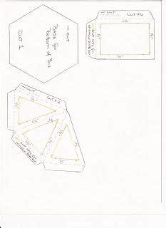 svg scut mtc  hexagonal explosion box card