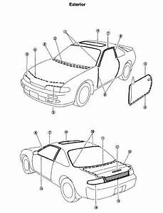 240sx Exhaust Diagram : nissan 240sx s14 1995 repair manual online guide and manuals ~ A.2002-acura-tl-radio.info Haus und Dekorationen