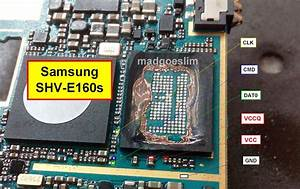 Pinout Direct Emmc Samsung   Isp