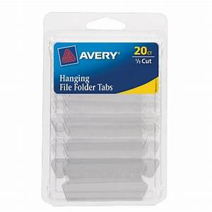 galleon avery hanging file tabs 1 5 cut clear With avery hanging file labels