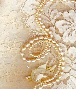 pearls and lace | Vintage Pearls And Lace Background Play ...