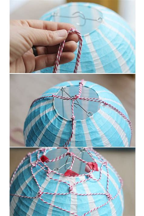 hot air balloon vintage style cool crafts