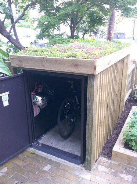 bike shed on