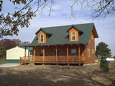 sq ft log cabin home kit package