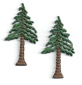 Magicforest Tree Sewing Set tree pine tree set of 2 embroidered iron on applique