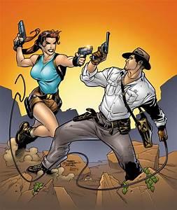 Lara Croft Vs Indiana Jones Battles Comic Vine