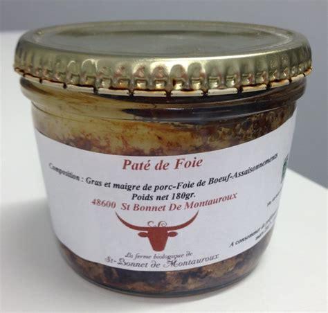 pate de porc en bocaux pate de foie de porc en conserve 28 images p 226 te de foie porc en conserve recettes 1000