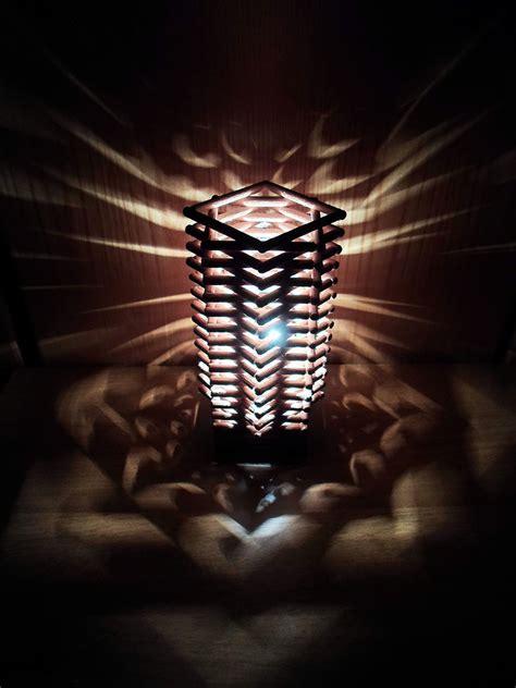 diy dowel lamp     lamp lampshade home