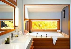 Badewanne Mit Holzverkleidung : attraktive badezimmer mit badewannen aus holz ~ Sanjose-hotels-ca.com Haus und Dekorationen