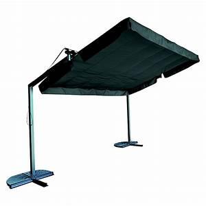Sunfun standmarkise 350 x 250 x 235 cm anthrazit bauhaus for Markise balkon mit tapeten fliesen küche