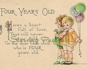 4 yr old girl birthday quotes