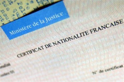 bureau de nationalité française le certificat de nationalité française consulat général