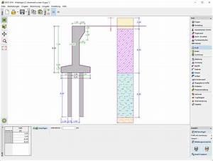 Stahlbeton Bewehrung Berechnen : widerlager geotechnische software geo5 fine ~ Themetempest.com Abrechnung