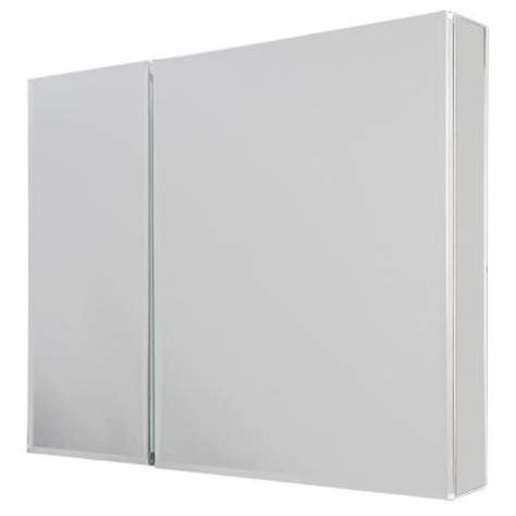 Glacier Bay Medicine Cabinet Mirror by Glacier Bay 30 In X 26 In Recessed Or Surface Mount