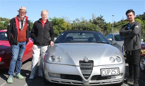 Alfa Romeos Roll Into Nelson