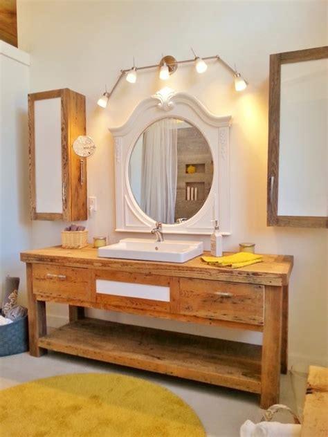 salle de bain rustique vanit 233 rustique salle de bain