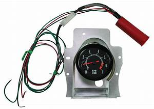 Shiftworks Chevelle Clock To Tach Conversion Fits 1969