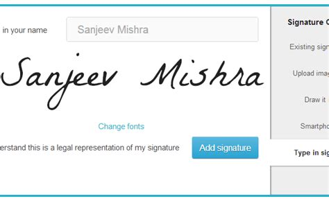Add Legal Signature on Google Docs or Dropbox documents ...