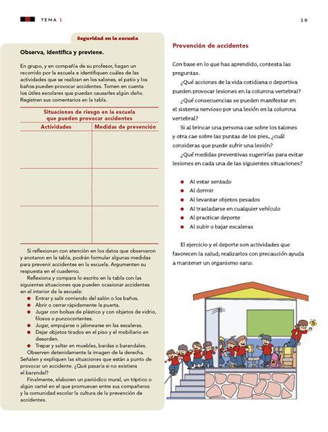 Cuestionario sexto grado ciencias naturales bloque i cmo mantener la salud? Ciencias Naturales sexto grado 2017-2018 - Página 19 - Libros de Texto Online