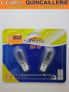 Ampoule De Frigo : ampoule pour frigo et machine coudre e14 20w clairage ~ Premium-room.com Idées de Décoration