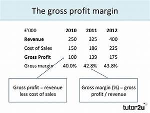 Interpreting Accounts: Profitability Ratios