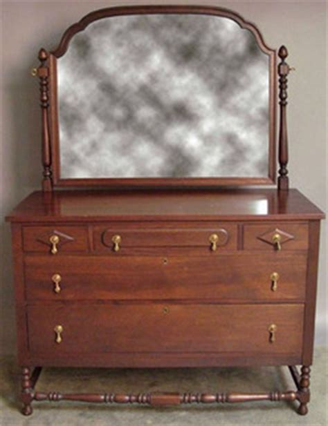 furniture suite bedroom walnut dresser chest turned