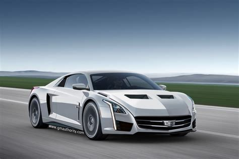 cadillac mid engine supercar rendering gm authority