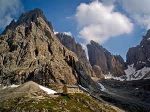 Rifugio Dolomites Italy